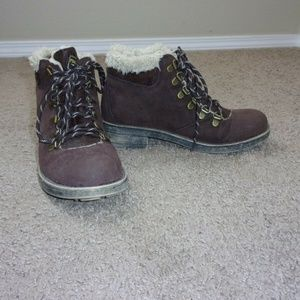 Rocket Dog Ankle Hiking Boots 8.5 Women's Brown
